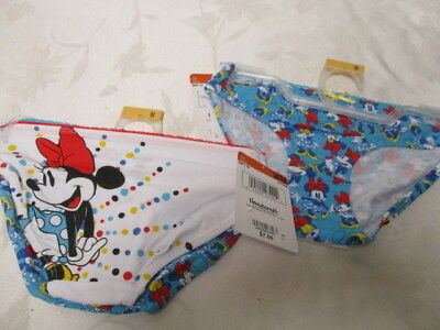 f091c6268730 Girls Minnie Mouse Cotton Stretch Boyleg Panties - Size M 8-10 New w/