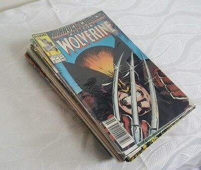 (23) Wolverine Comics Book Lot | # 2 & Much More | FN / VF | 1988