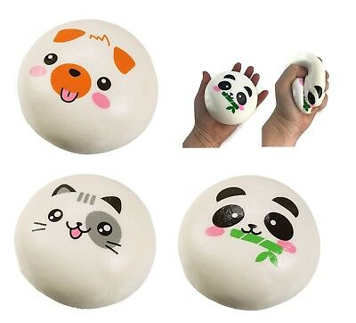 (1) Big Animal Squishy Stress Ball Relief Anxiety Calming Fidget Autism ADHD