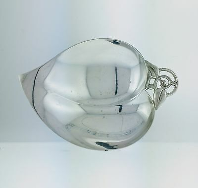 Vintage Tiffany & Co Makers 925 Sterling Silver Large Leaf Candy Nut Dish Bowl