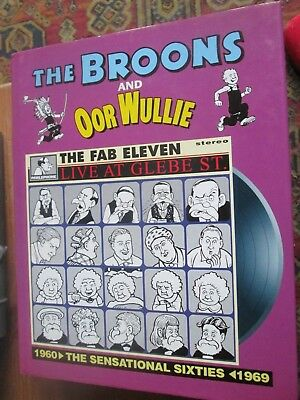 The BROONS and Oor WULLIE  cartoon book The Fab Eleven The sensational 60's