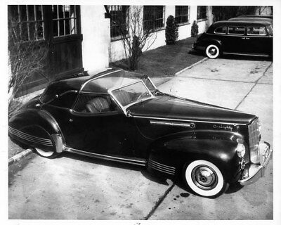 1941 Packard 180 Coupe Deville Brown Bomber ORIGINAL Photo Negative nad2348