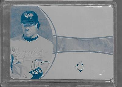 2006 Ultimate Collection - MIGUEL TEJADA - Printing Press Plate 1 of 1 - ORIOLES