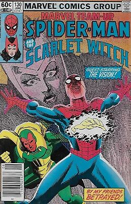 Marvel Team-up No.130 / 1983 Spider-Man and The Scarlet Witch / Sal Buscema
