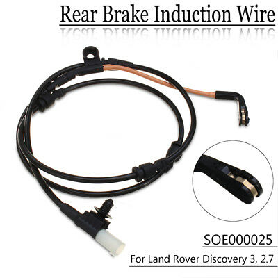 Car Rear Brake Pad Wear Sensor Kit Fit For Land Rover Discovery 3 2.7 SOE000025