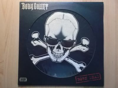 "BODY COUNT 12"" PICTURE MAXI: BORN DEAD (UK;Rhyme $yndicate Records SYNDTP 4)"