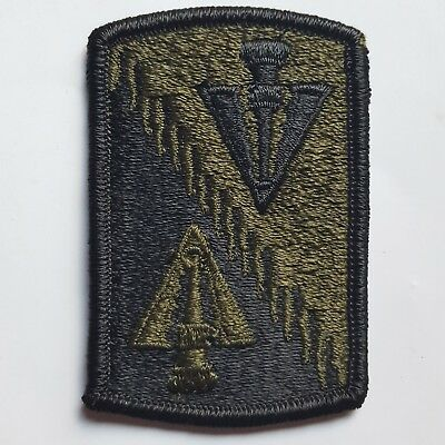 U.s. Army Aufnäher Patch  128Th Aviation Brigade Oliv Subdued Tarn Original