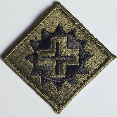 U.s. Army Aufnäher Patch 175Th Medical Brigade Oliv Subdued Tarn Original