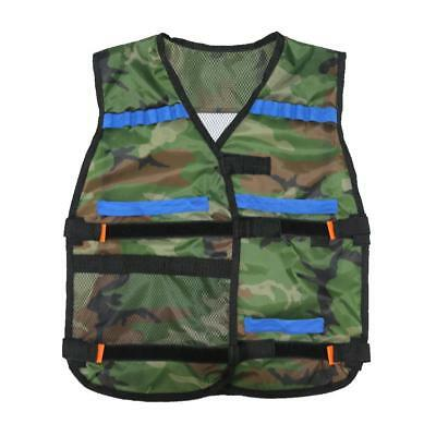 Camouflage Vest For Nerf Guns Stock Quick Reload Clip Bullets Darts