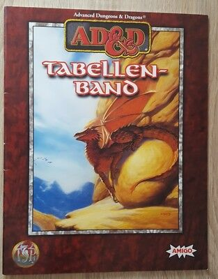 ++ Tabellenband ++ AD&D 2nd Edition, 2e