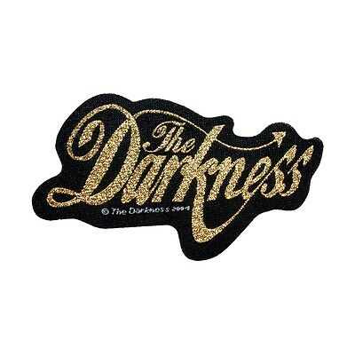 The Darkness Patch English Glam Metal Rock Band Jacket Woven Sew On Applique