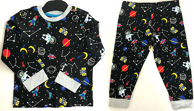 Ex Mini Club Space Rocket 2 Piece Pyjama Set Nightwear/Casual Wear Variety Sizes