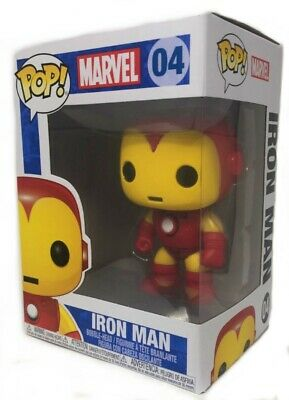 Funko Pop Marvel: Iron Man Vinyl Bobble-Head Item #2274