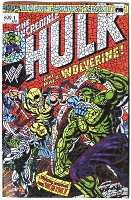 ESS353. HUNT FOR WOLVERINE #1 NM or Better SHATTERED Variant Hulk 181 Homage