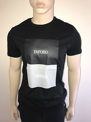 29a32cd8cc5 Mens Emporio Armani tshirt Black Xlarge Instore RRP £95 Our Price £29.99