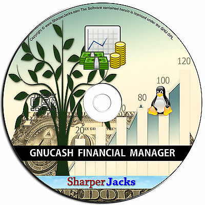 NEW & Fast Ship! GnuCash Personal & Small Business Financial Accounting - Linux
