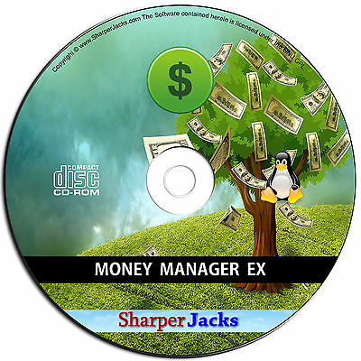 NEW Money Manager Accounting Bookkeeping Tax VAT, Business & Personal Linux