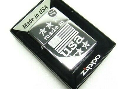 Zippo Full Size High Polish Chrome Made In USA Windproof Lighter 29430
