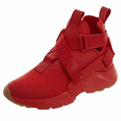 d515b60456d25 Nike Air Huarache City Womens Style   Ah6787 Gym Red Speed Red Black Size