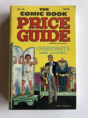 Overstreet Comic Book Price Guide #12 1982 SC (Softcover) FN+  MAD Cover