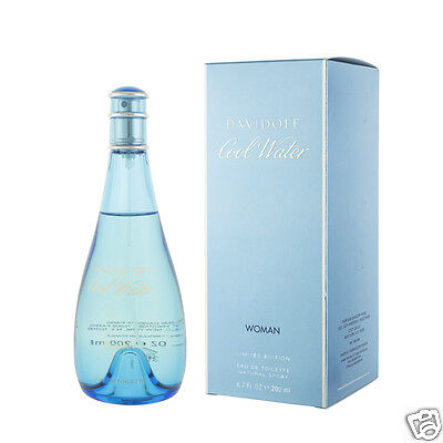 Davidoff Cool Water for Women Eau De Toilette 200 ml (woman)