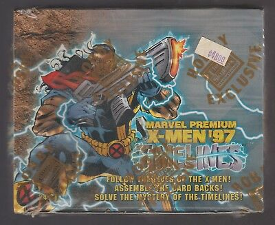Marvel Premium Fleer Skybox X-Men '97 Timelines Factory Sealed Trading Card Box