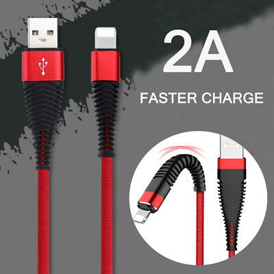 For Lightning USB Charger Charging Data Sync Cable for iPhone 6 7 X XS Max Cable