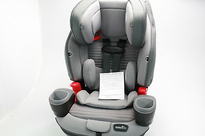 Evenflo Evolve Platinum 3 In 1 Combination Booster Seat Charcoal Stripe 34412066