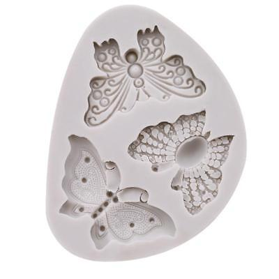 Silicone Butterfly Shape Mold Cake Fondant Decorating Sugar Craft Mould Tool B
