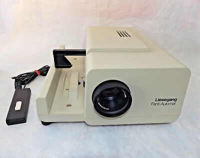Liesegang Fanti Automat Type 360 Slide Projector ~ Remote Control + 2 Magazines