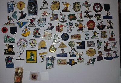 Pins Pin Lot Collection Handball Hand-Ball Sport Équipe Région Ville Pays Superb