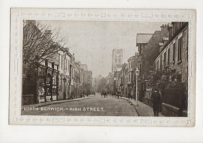 North Berwick High Street 1918 Postcard 132b