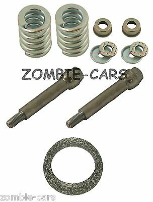 Peugeot 106 1.5D Exhaust Fitting Kit Gasket Bolts & Springs