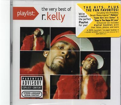 R. Kelly - The Very Best Of R Kelly (2011 CD) Remastered (New & Sealed)