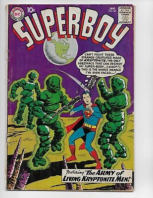 Superboy 86 - G- 1.8 - 4Th Legion Appearance - 1St Pete Ross (1961)