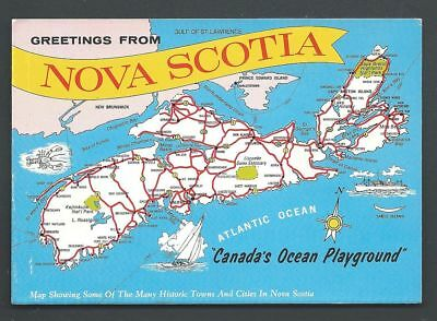 MAP POSTCARD NOVA Scotia NS Atlantic Ocean Canada on newfoundland and labrador, new brunswick map, alberta map, quebec map, british columbia map, iceland map, northwest territories, cabot trail map, british columbia, canada map, prince edward island, north america map, cape breton island map, new brunswick, quebec city, ontario map, australia map, saskatchewan map, québec, pei map, peggy's cove map, world map, nevada map, maine map, nfld map, bay of fundy map, scotland map,