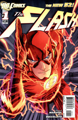 THE FLASH #1 The New 52 2011 DC 1st Print Sold Out NM to NM+