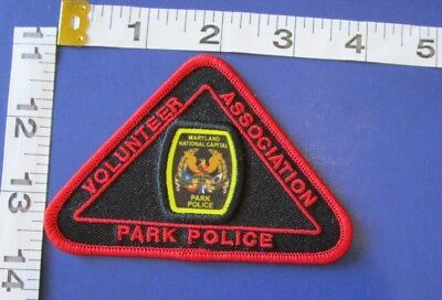 Maryland  Volunteer Park Police Shoulder  Patch