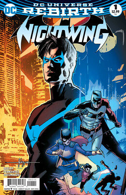 Nightwing #1 (NM)`16 Seeley/ Fernandez  (Cover A)
