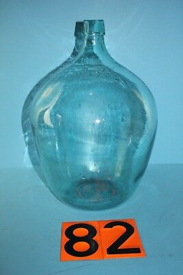 Alter  Glasballon Transparent Ca 10 Liter Nr 82