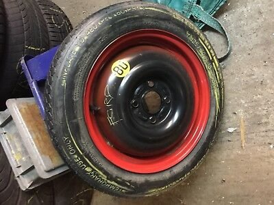 Ford Ka  Stud Space Saver Spare Wheel And Tyre