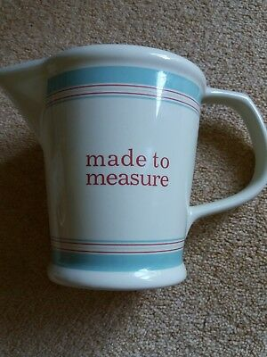 Laura Ashley 'made to measure' jug