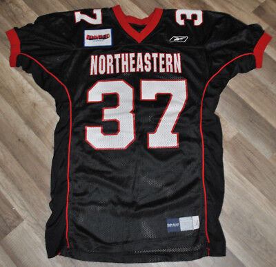 new product bdcb5 d912e NORTHEASTERN UNIVERSITY HUSKIES Football Game Used Jersey