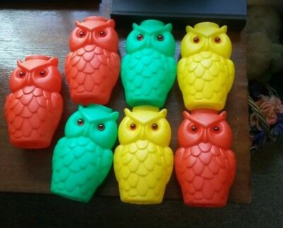 Vintage Owl Mold String Lights Patio Rv Camping Indoor
