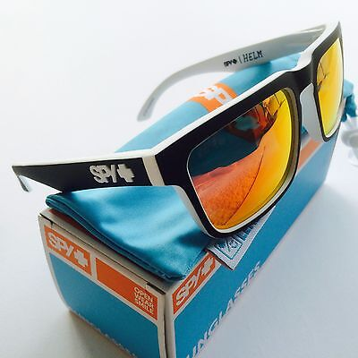 New Spy Helm Whitewall Happy Grey Green Red Spectra Surf Snow Sports Sunglasses