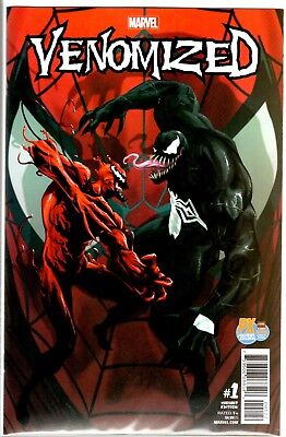 Marvel Comics VENOMIZED #1 PX C2E2 EXCLUSIVE VARIANT ONLY 3000 MADE
