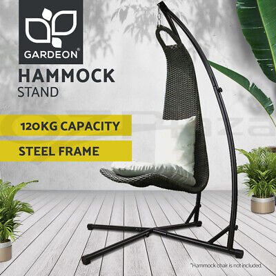 C Frame Hammock Chair Stand Steel Frame Outdoor Heavy Duty 150kg S