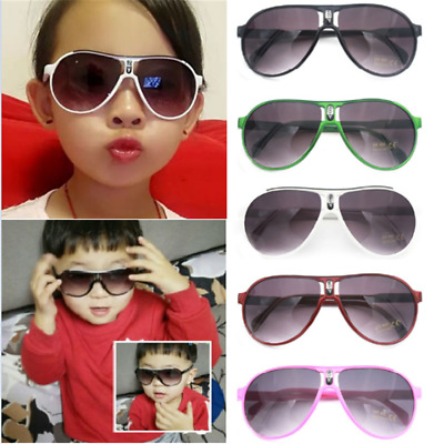 Fashion ANTI-UV Kids Sunglasses Child Boys Girls Shades Baby Goggles Glasses