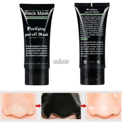 Peel Off Black Mask Nose Strip Blackhead Remover Pore Máscara de limpieza ENE