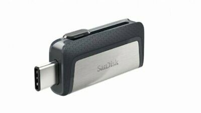 SANDISK ULTRA DUAL TYPE-C USB 150MB/sec 128GB USB FLASH DRIVE NEW st